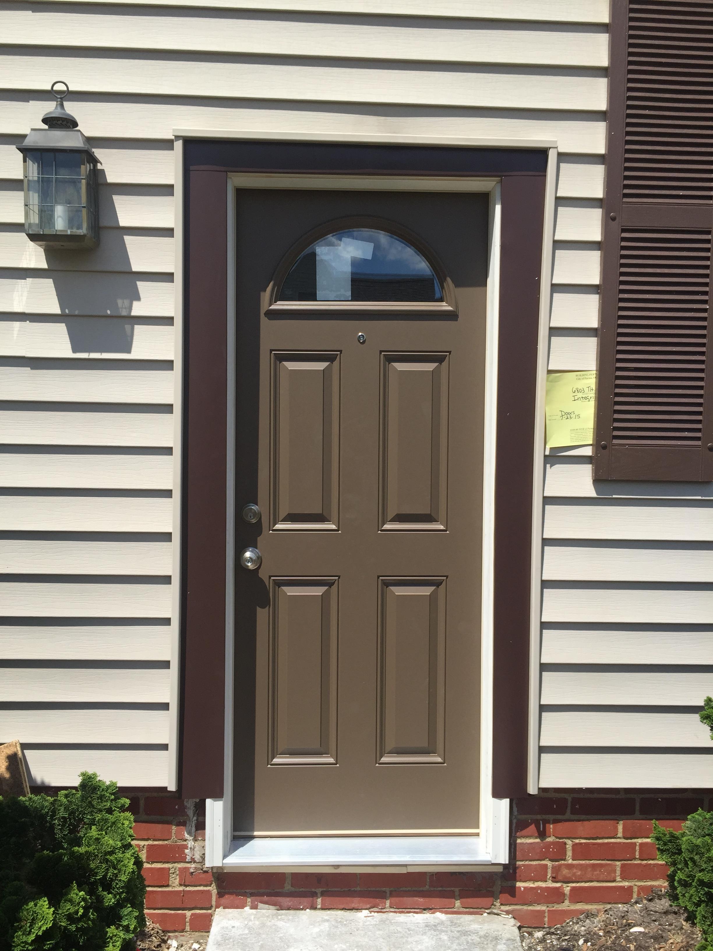 Cl 70 Fiberglass Entry Door Westlake Ohio Integrity Windows
