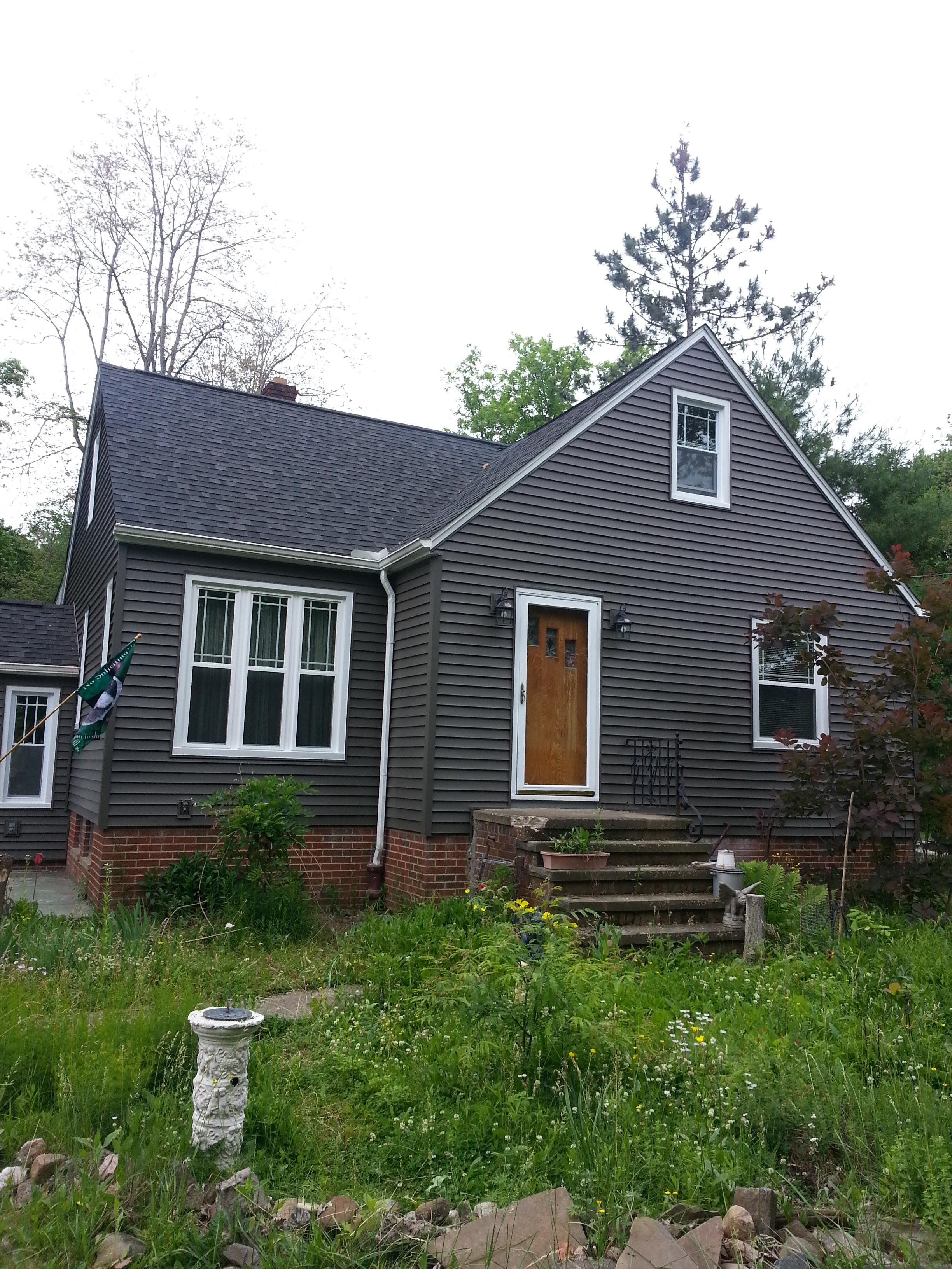 Double Hung With Prairie Grids Windows And Siding North