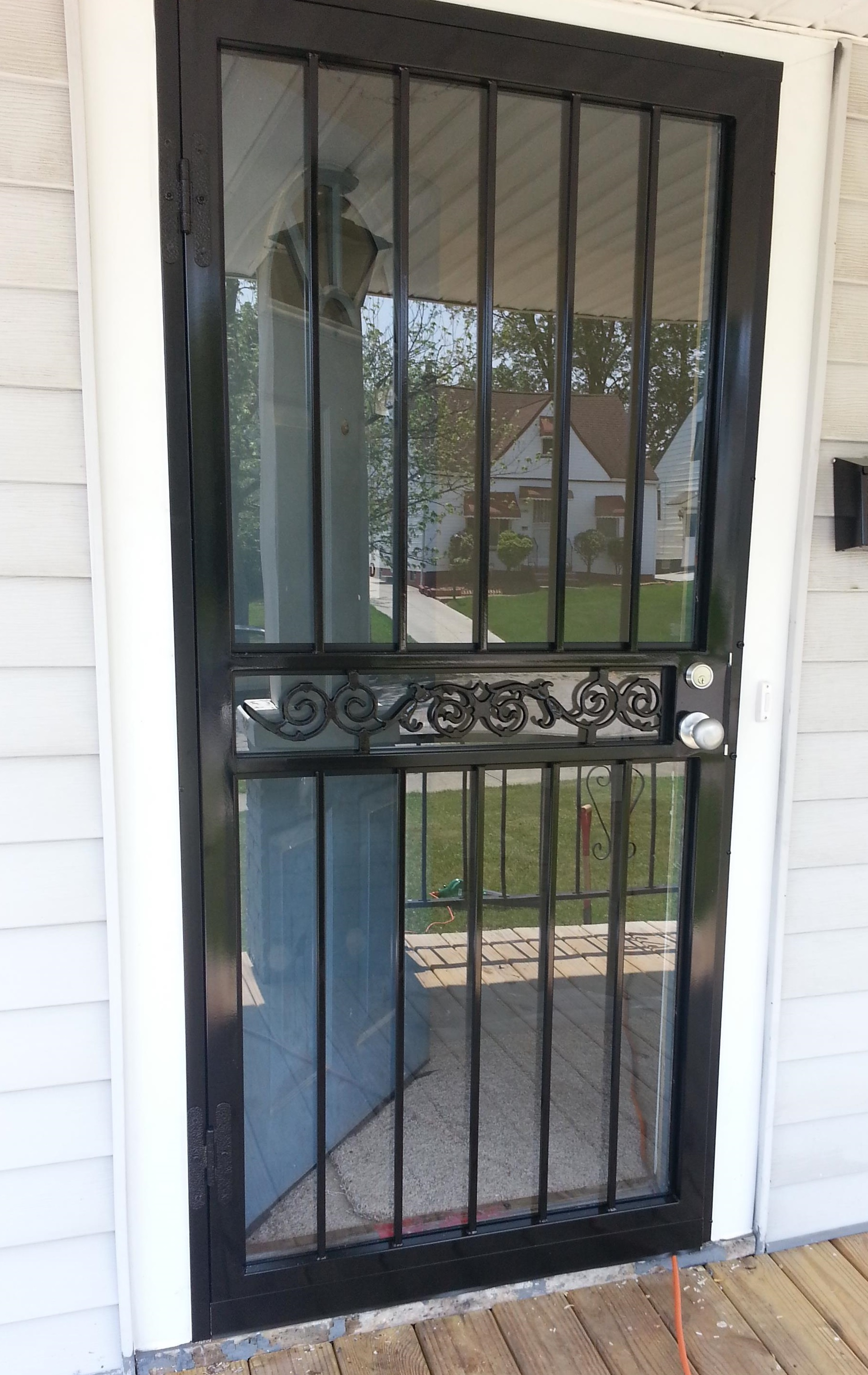 Security Door in Maple Heights, Ohio