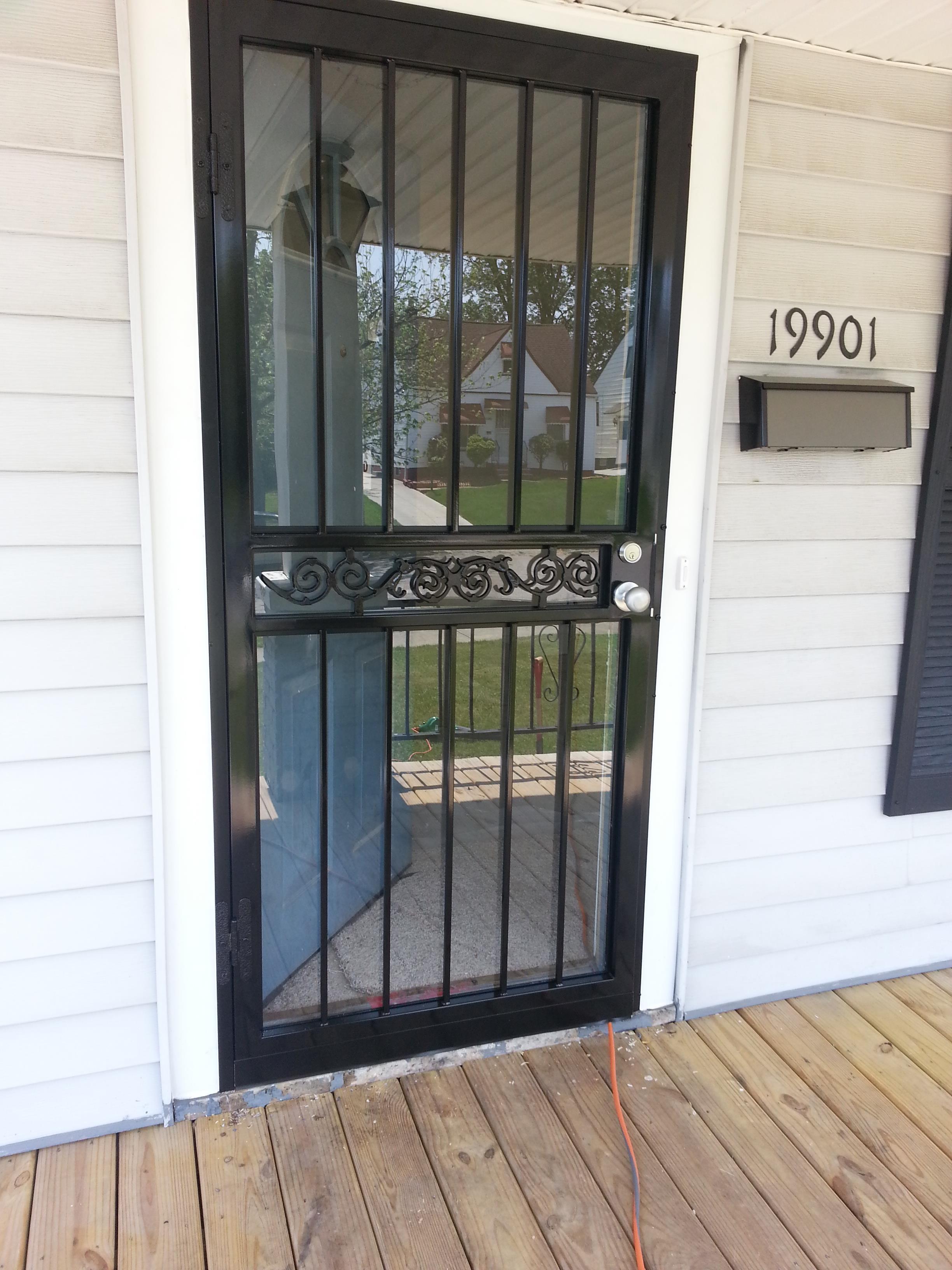 Security Door Maple Heights Ohio Integrity Windows