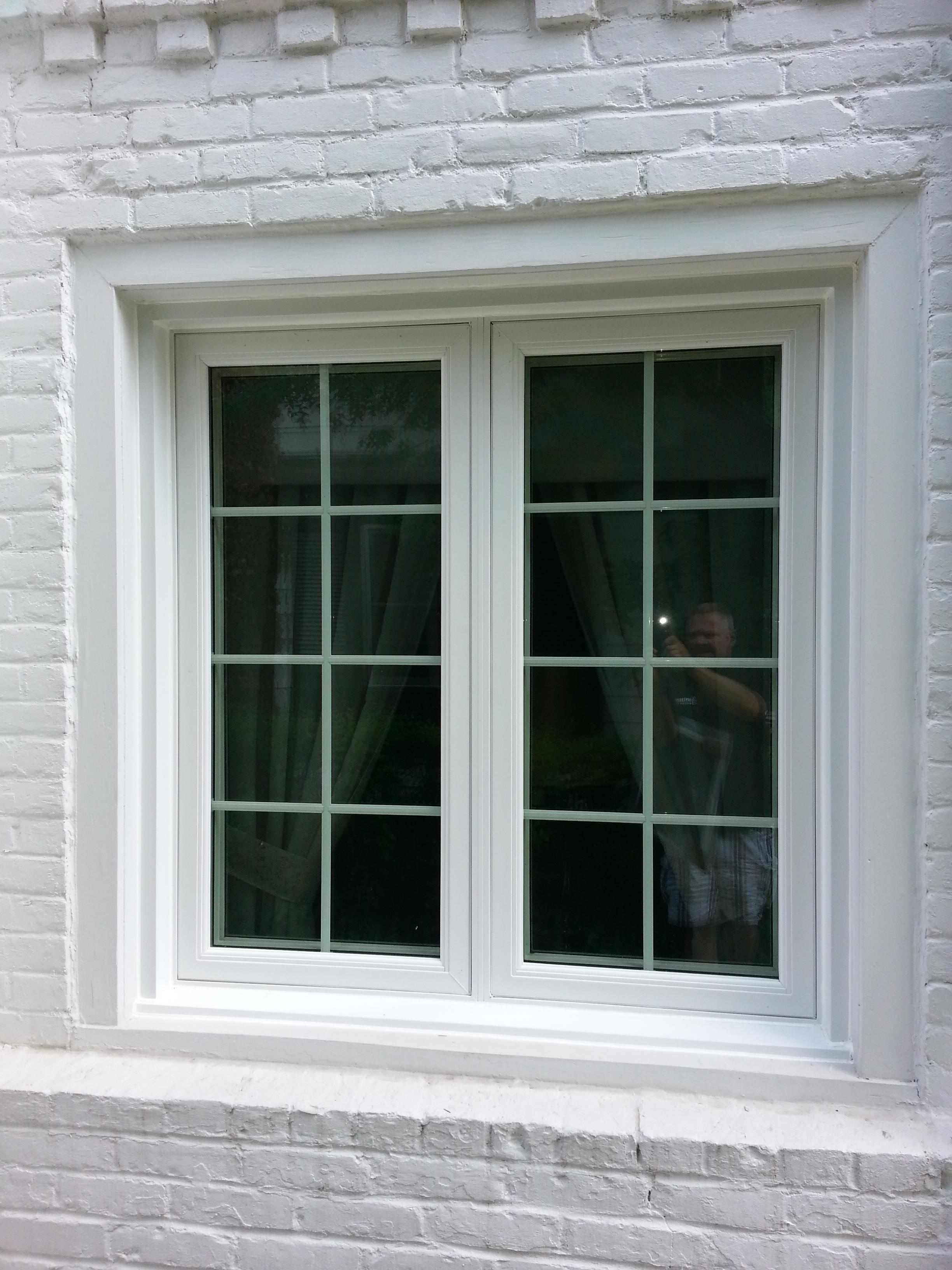 double casement windows images