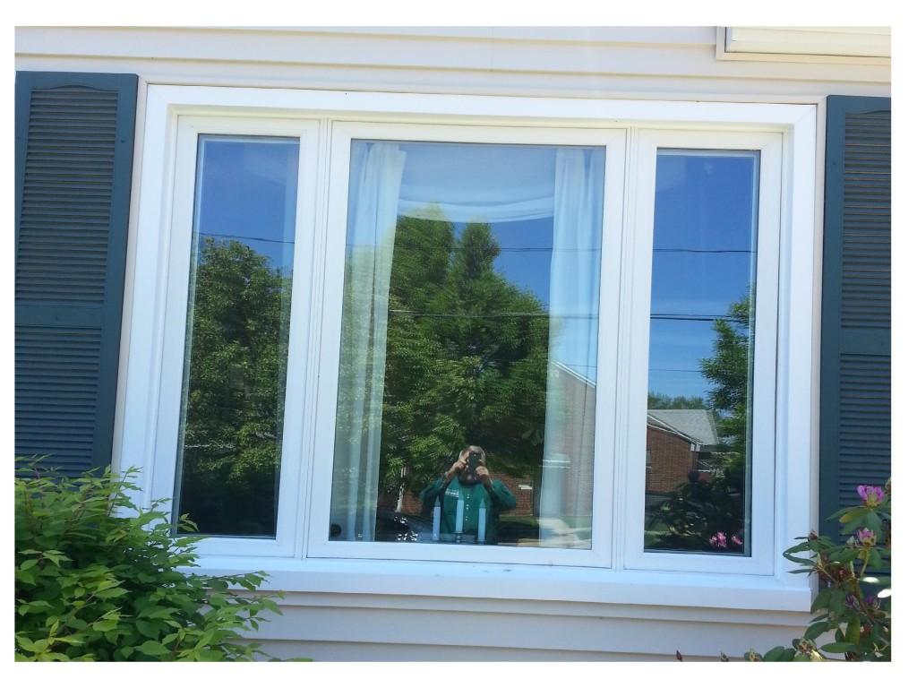 Triple Casement Window Installation In Wickliffe