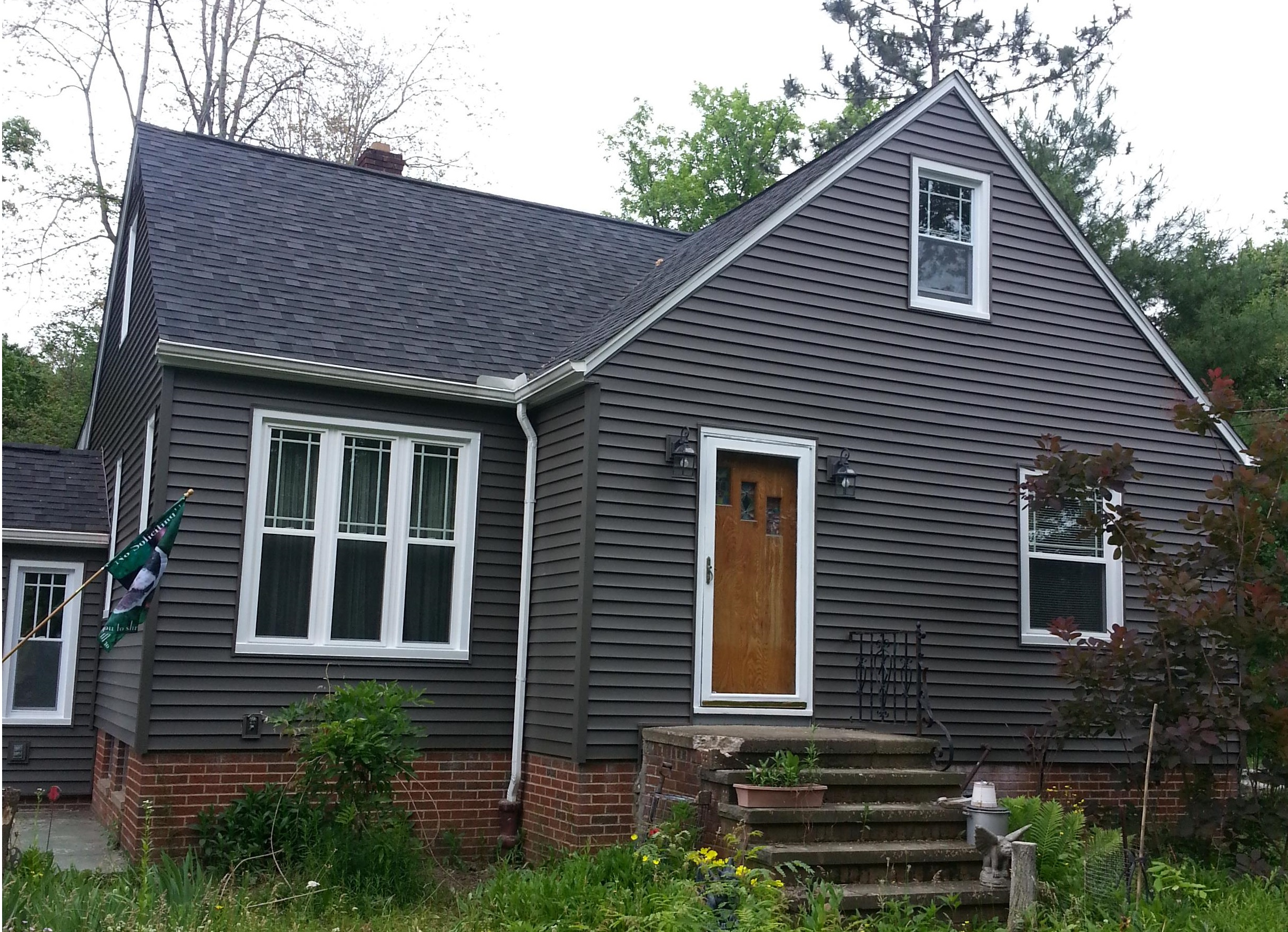 double hung windows prairie grids and siding north royalton ohio