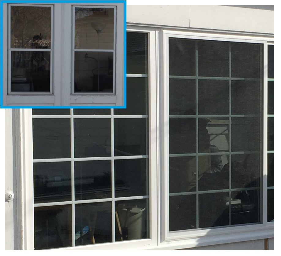 Two Lite Slider Before After Integrity Windows