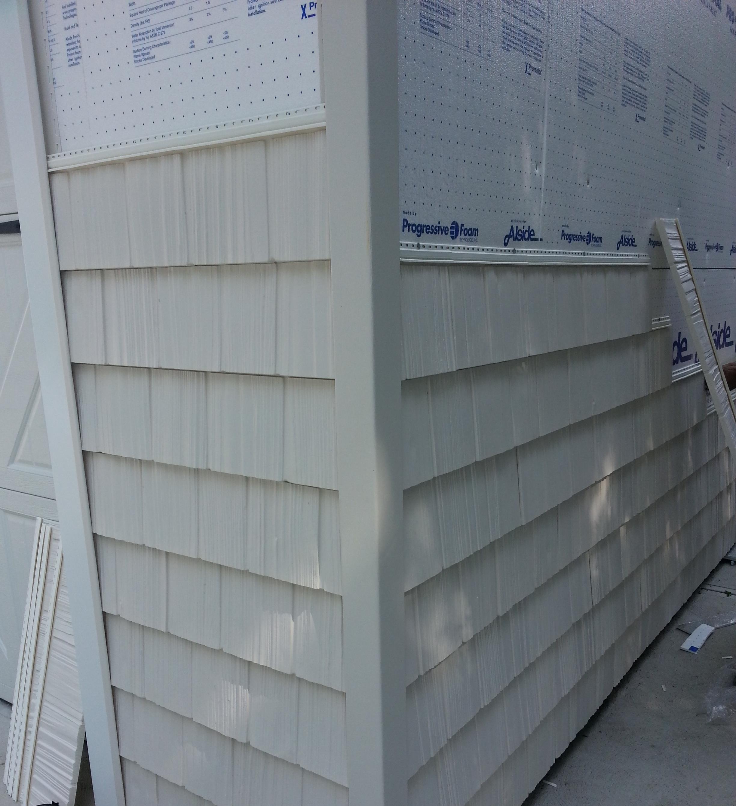 Hand Split Shake Siding Rocky River Integrity Windows