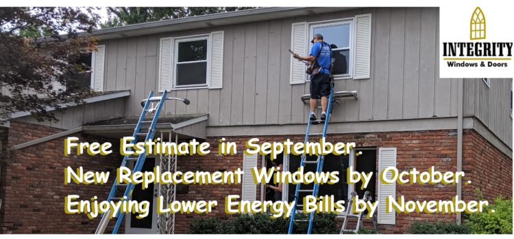 Replacement Windows Cleveland: September is the Best Month for a Free Quote