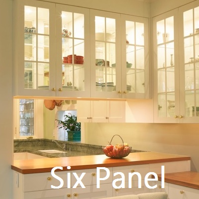 6 Panel Kitchen Glass Cabinets ⋆ Integrity Windows