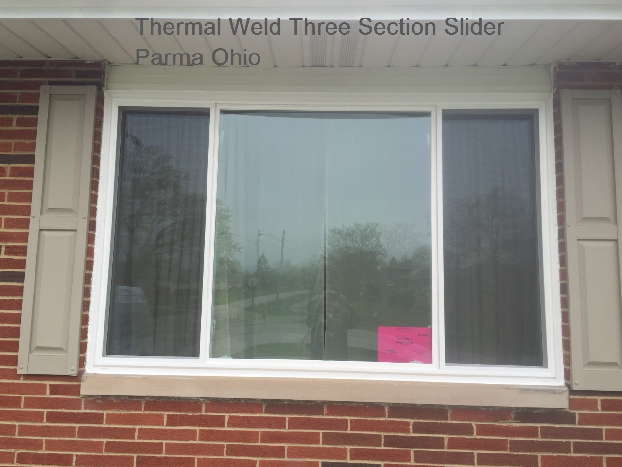 Three Section Slider Replacement Windows ⋆ Integrity Windows