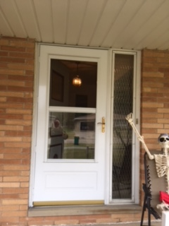 New Entry Door Amp Storm Door With Side Lite In Seven Hills Oh