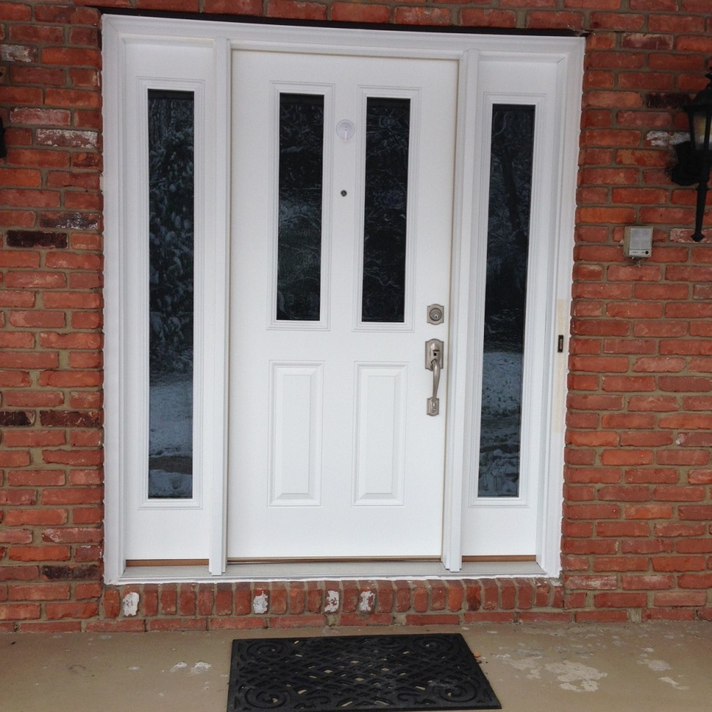 Chagrin Falls New Entry Door Rain Glass Sidelights
