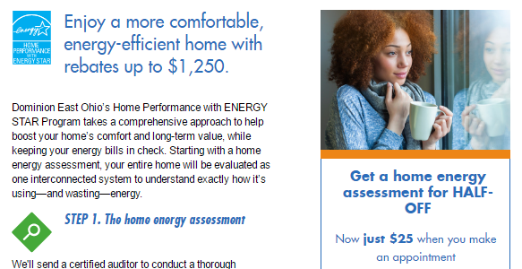 Discounts on Energy Efficient Replacement Windows