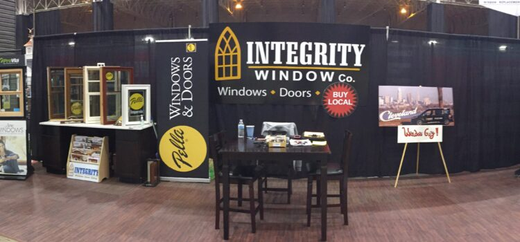 Cleveland Window Companies at the Great Big Home & Garden Show