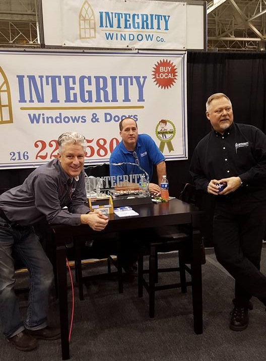 Integrity Windows Cleveland Home + Garden Show 2019