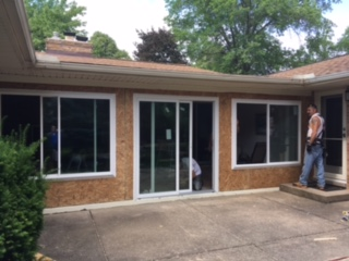 New Vinyl Replacement Windows & Patio Door in Bay Village