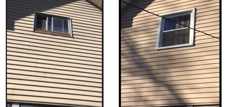 Replaced Sliding Window with Double Hung