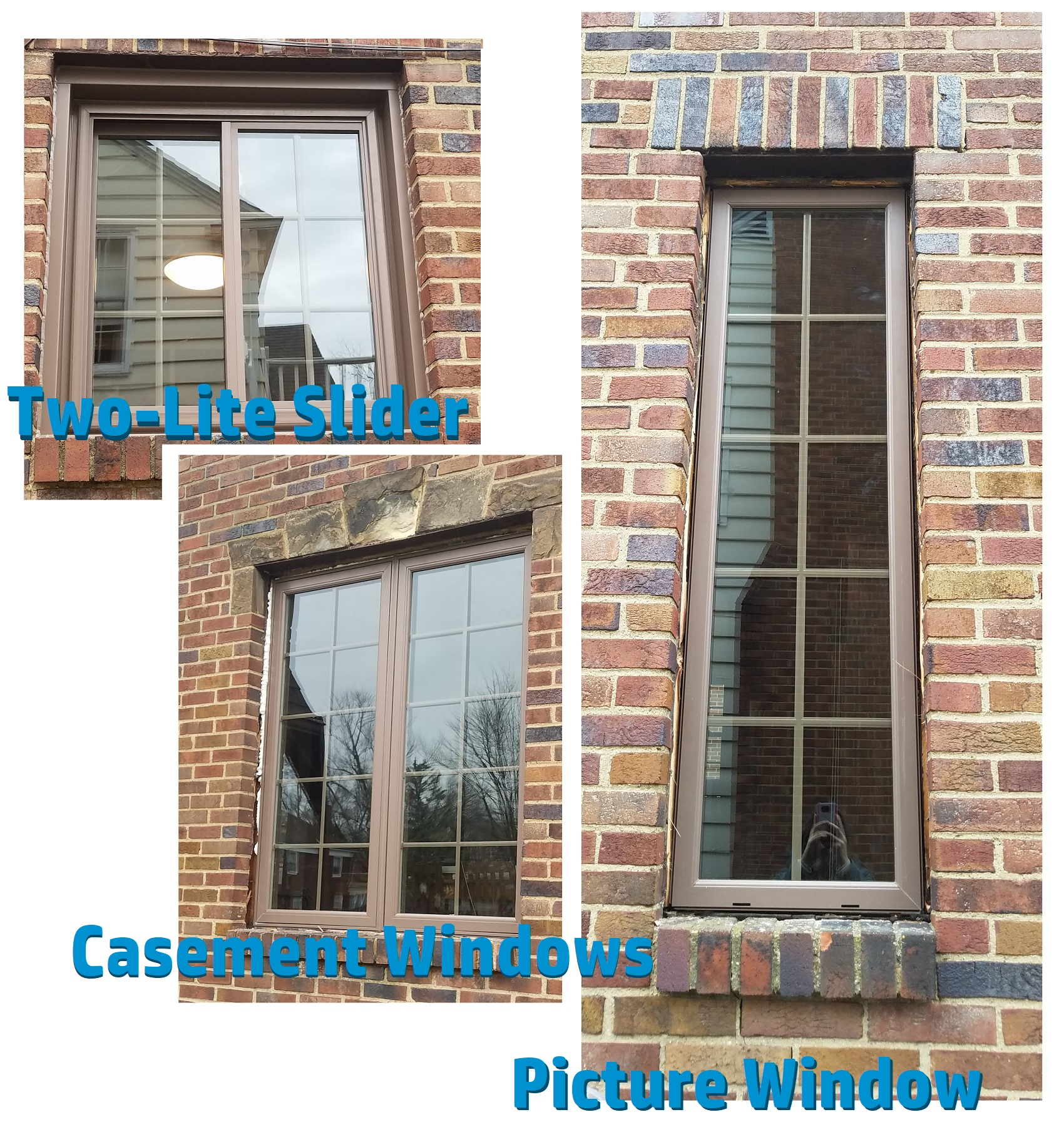 Variety of Replacement Windows