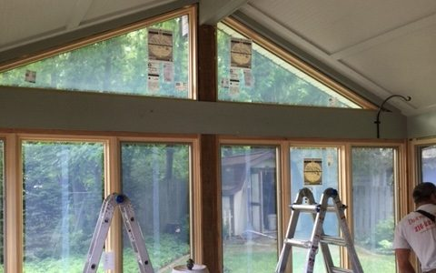 Pella Wood Replacement Windows in Rocky River