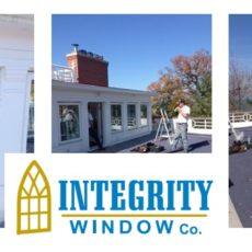 New Replacement Windows for Rocky River House on the River