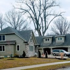 New Windows for New Construction Home In Rocky River