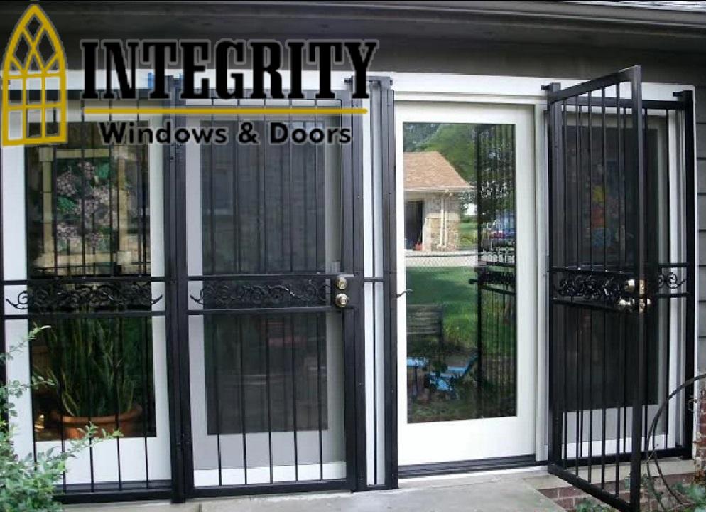Decorative Security Storm Doors