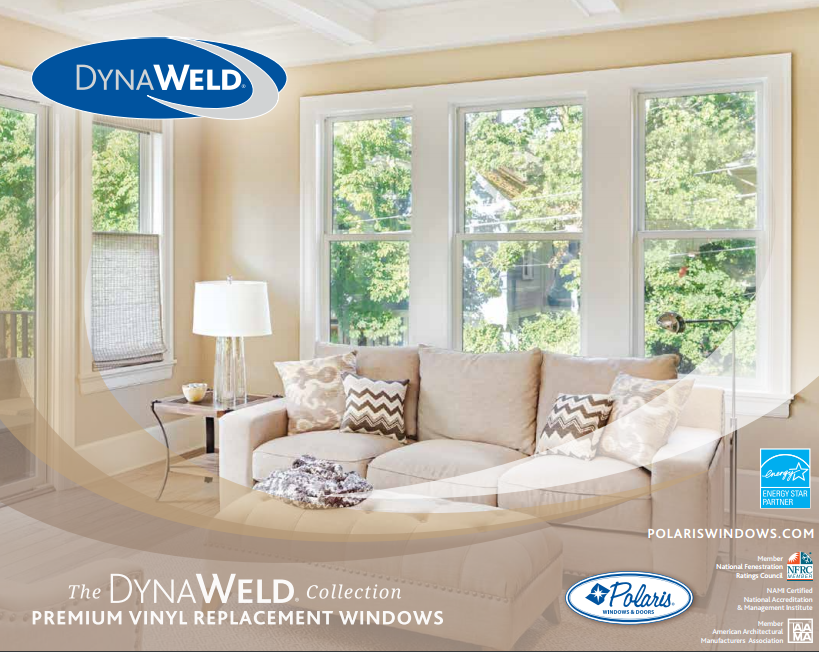 Cleveland window company dynaweld premium vinyl for Vinyl windows company