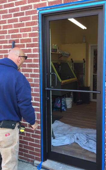 Commercial Door Installation Lakewood Integrity Windows