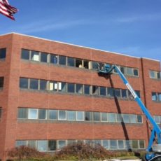 Over Four Hundred Commercial Replacement Windows in Cleveland Office Building