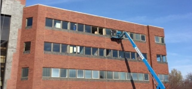 Commercial Window Installation Cleveland Office Building