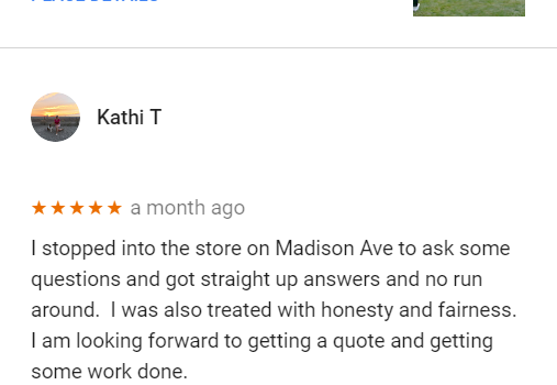 Mentor Customer Review: Impressed With Honesty
