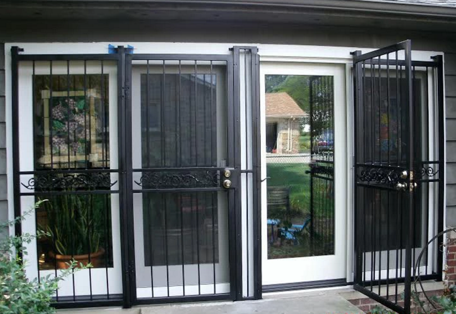 Cleveland security storm door