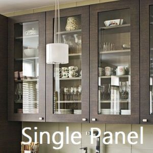 single panel glass cabinet door ⋆ Integrity Windows