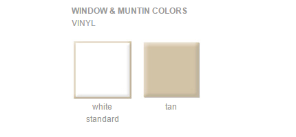 Vinyl window colors