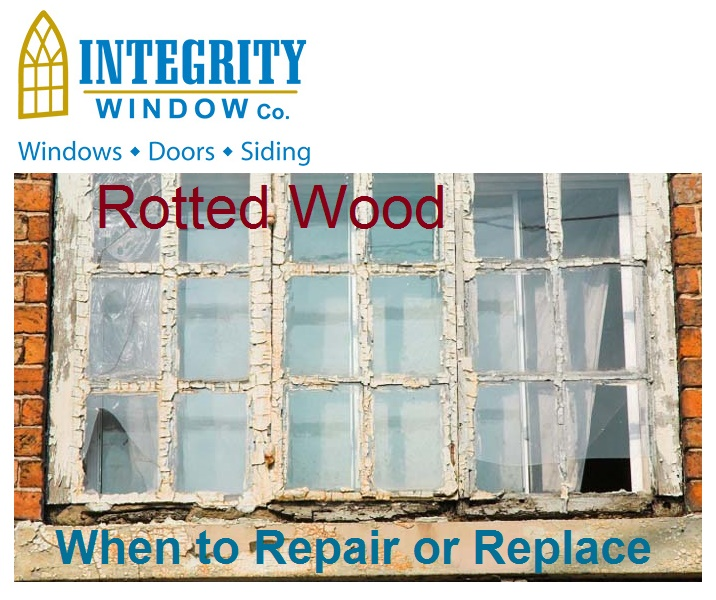 Window Repair Cleveland - Rotted Wood